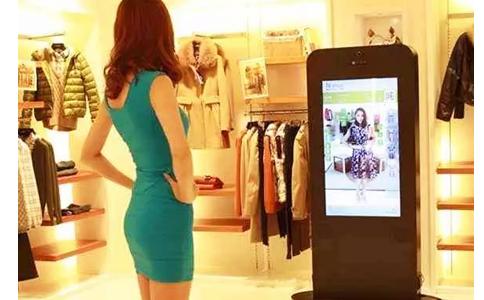 RFID应用于服装智慧门店试衣魔镜